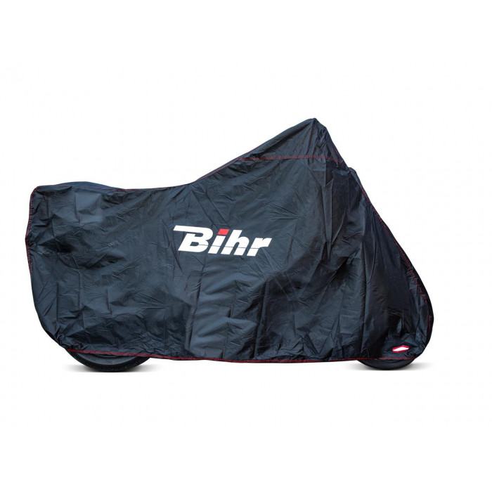 Housse de protection extérieure BIHR compatible bulle haute noir taille S