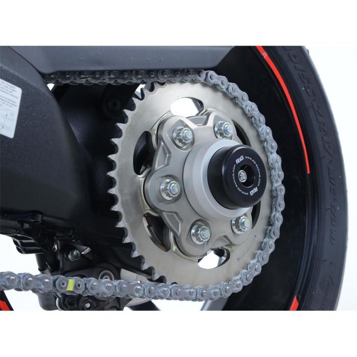 Insert axe de roue arrière R&G RACING argent Ducati 937 Supersport/S