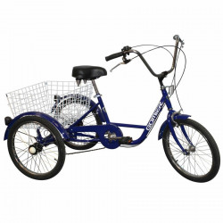 "Tricycle adulte 20"" bleu 5..."