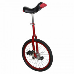 "Monocycle 20"" rouge tige de..."