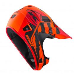 Casque vélo KENNY SCRUB orange rouge taille S