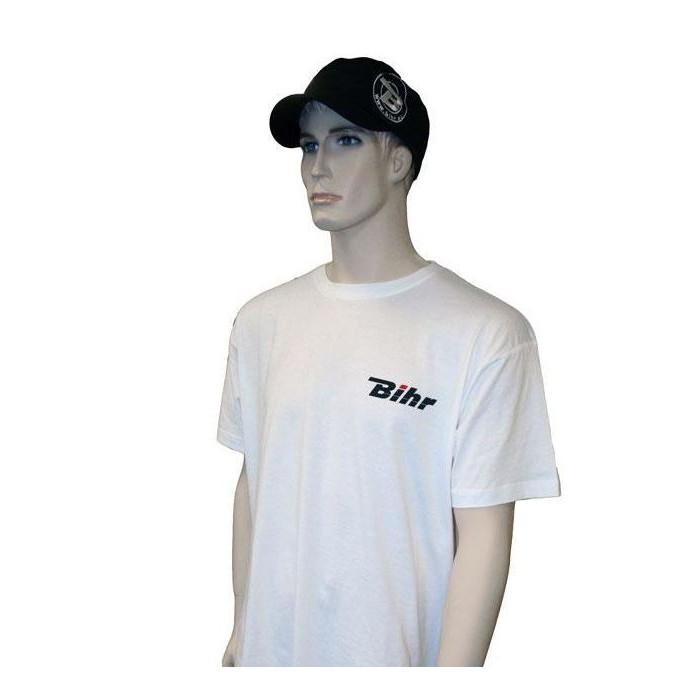 T-shirt BIHR Blanc 150g coton - taille M