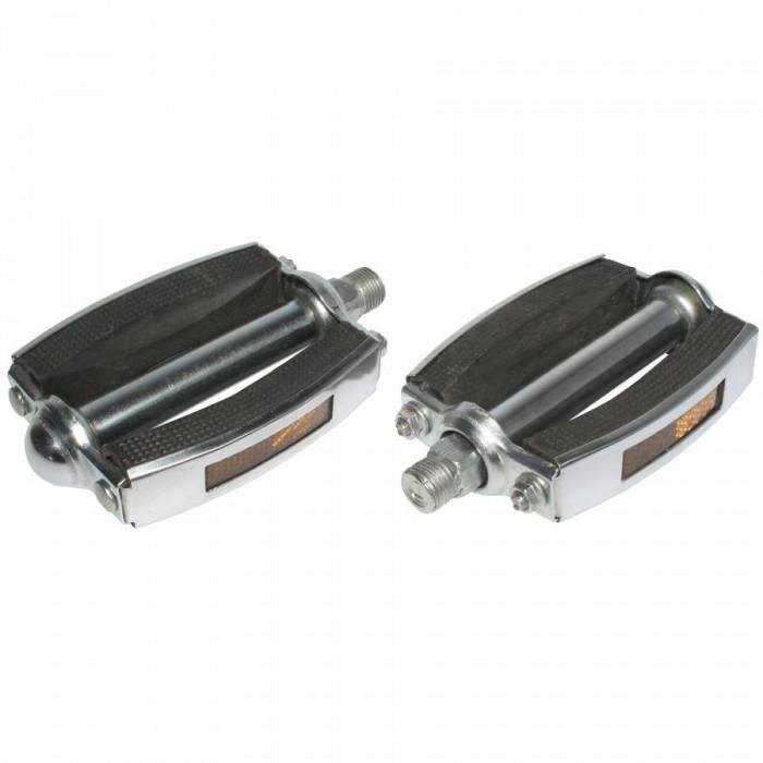 Pedale cyclo adaptable solex noir 14x125 (paire)