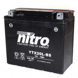 Batterie 12v 18ah ytx20l-bs...