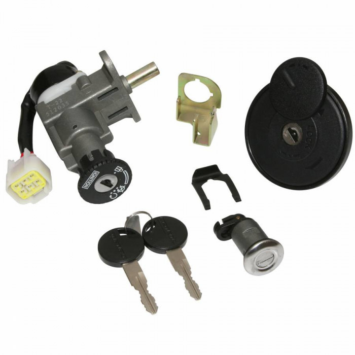 Contacteur a cle scoot adaptable generic 50 xor, ideo 2006+ -selection p2r-