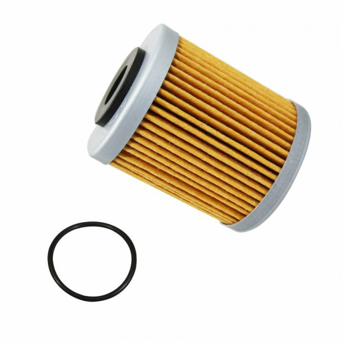 Filtre a huile moto hiflofiltro pour ktm 250-400-450-520-525 exc, 690 duke, 450-525 smr, 690 supermoto