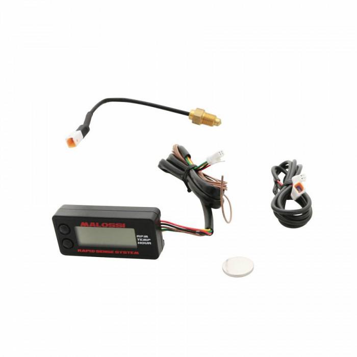 Thermometre digital malossi rapid sense sytem pour le circuit de refroidissement liquide -25°c a 250°c