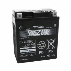 Batterie 12v  7.4 ah ytz8v...
