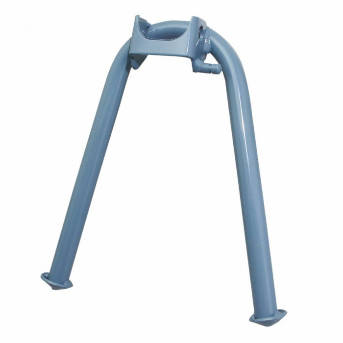 Bequille cyclo centrale adaptable mbk 88, 881 bleu (h 210mm) -selection p2r-