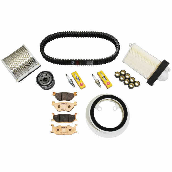 Kit entretien maxiscooter adaptable yamaha 500 tmax 2001+2003 -rms-