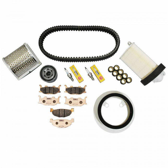Kit entretien maxiscooter adaptable yamaha 500 tmax 2004+2007 -rms-