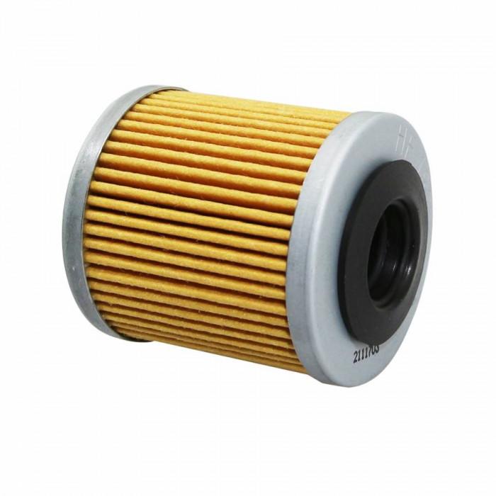 Filtre a huile maxiscooter hiflofiltro pour piaggio 350 beverly 2011+ (45x49mm) (hf182)