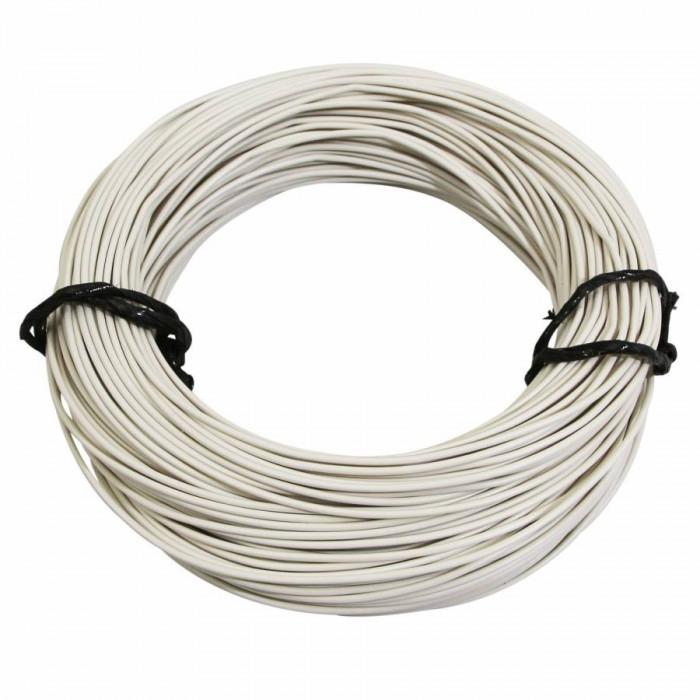 Fil electrique 7-10 (0,50mm) blanc (50m) -selection p2r-