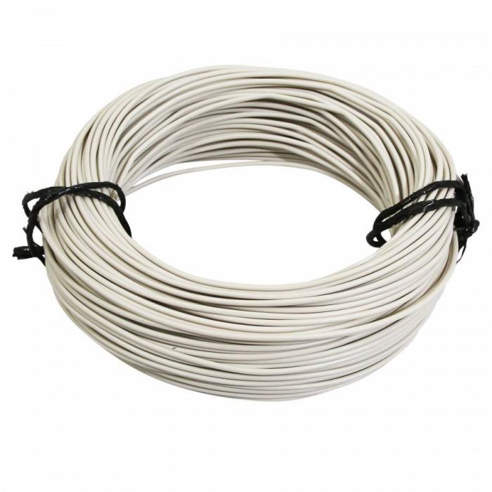 Fil electrique 9-10 (0,75mm) blanc (50m) -selection p2r-