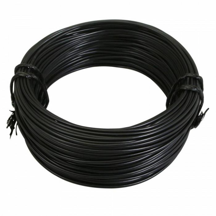 Fil electrique 12-10 (1,00mm) noir (50m) -selection p2r-