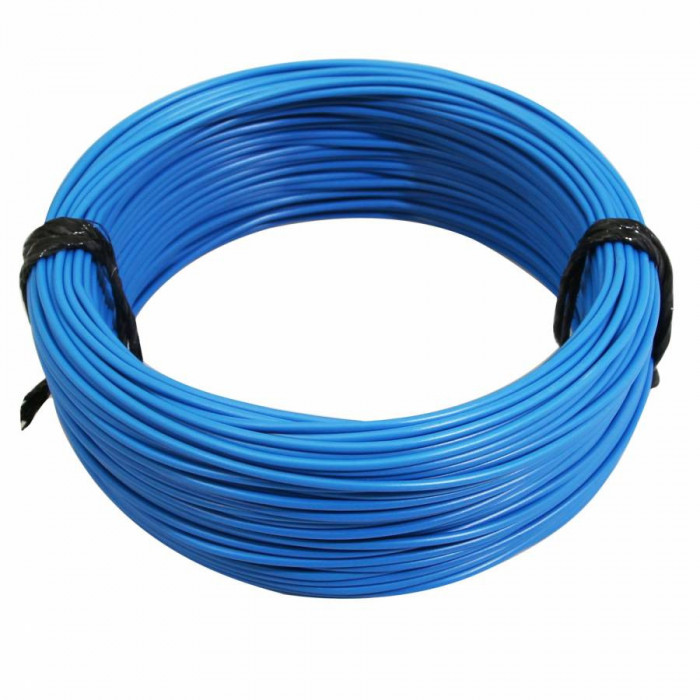 Fil electrique 12-10 (1,00mm) bleu (50m) -selection p2r-