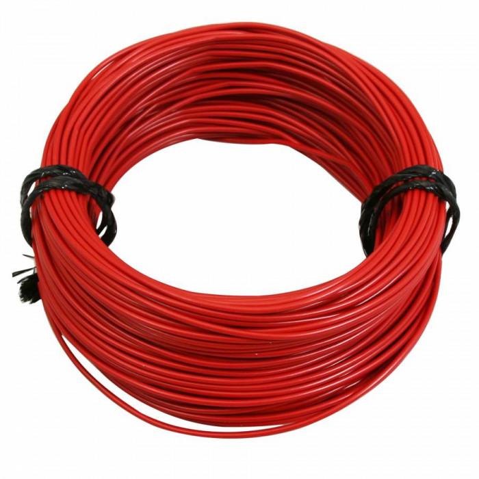 Fil electrique 12-10 (1,00mm) rouge (50m) -selection p2r-