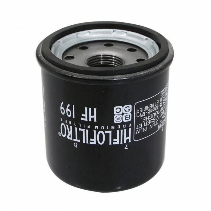 Filtre a huile quad hiflofiltro pour polaris 550 sportsman 2011+2014 (65x77mm) (hf199)