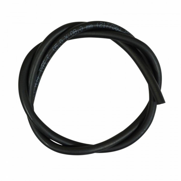 Durite essence nbr 5x8 noir (1m) (hydrocarbures+huiles - fabrication ce)