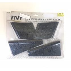 Jeu 4 repose pieds TNT Alu adaptable BOOSTER origine neuf