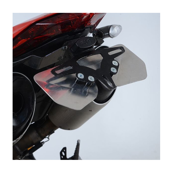 Support de plaque R&G RACING noir Ducati 950 Hypermotard