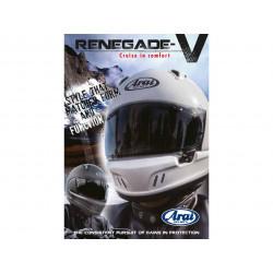 Flyer ARAI Renegade-V anglais