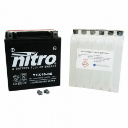 Batterie 12v 14ah ytx16-bs...