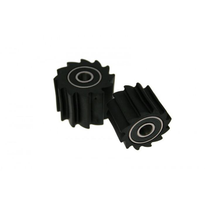 Roulette de chaîne BIHR Blade noir type KX