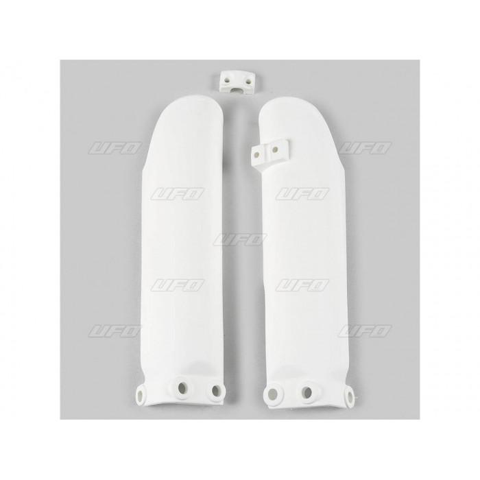 Protections de fourche UFO blanc KTM SX65