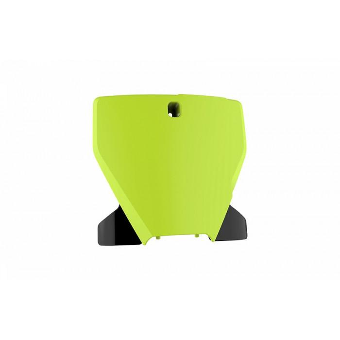 Plaque frontale POLISPORT jaune fluo/noir Husqvarna TC/FE