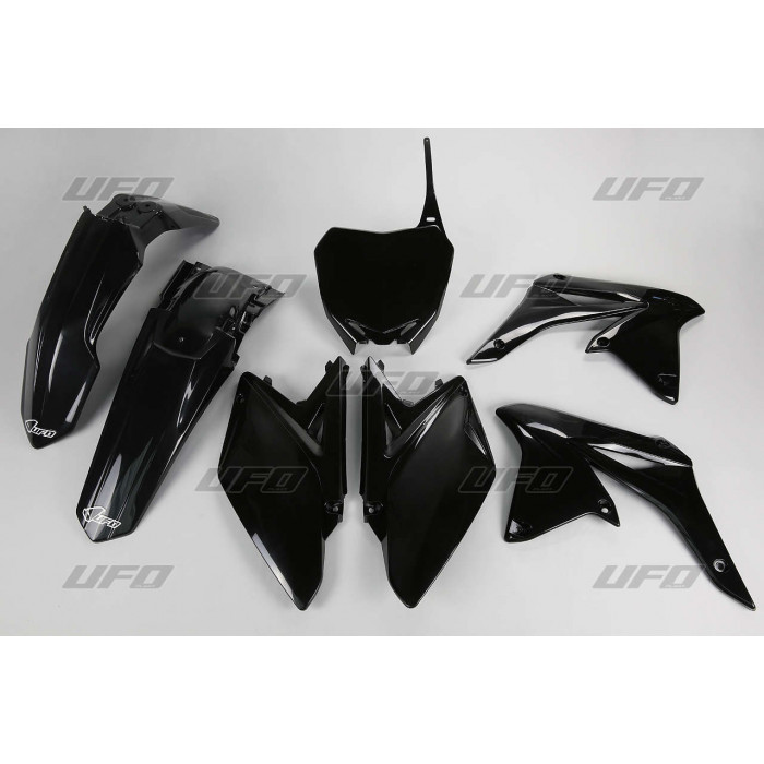 Kit plastique UFO noir Suzuki RM-Z250