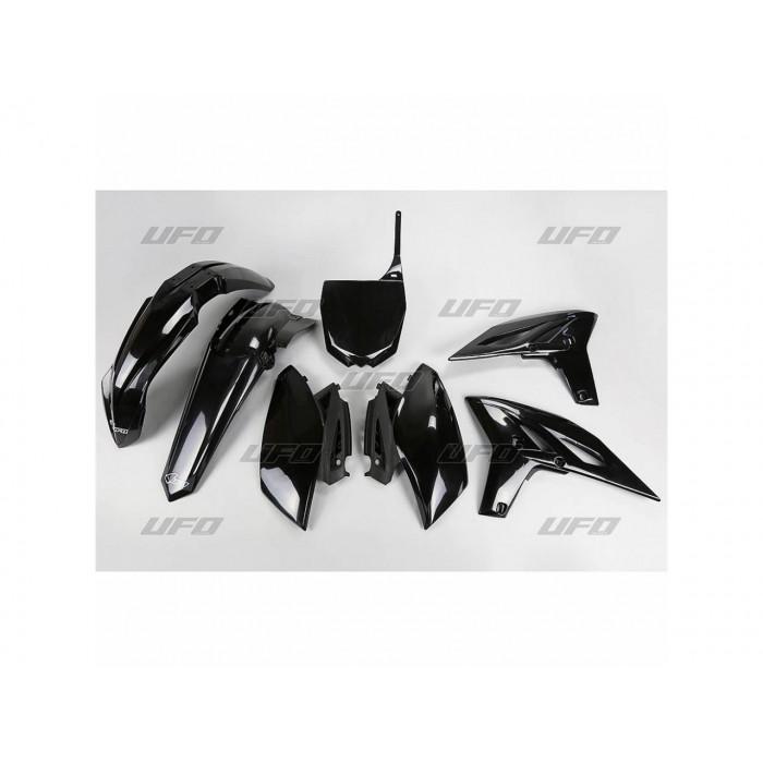 Kit plastique UFO noir Yamaha YZ250F