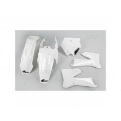 Kit plastique UFO blanc KTM...