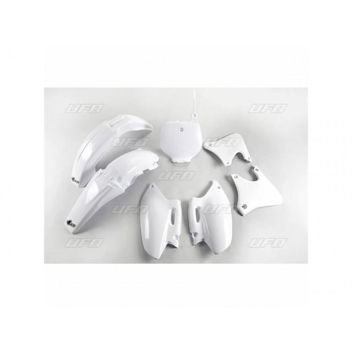 Kit plastiques UFO couleur origine blanc (98) Yamaha YZ400F