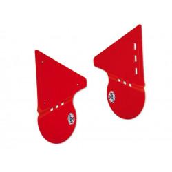 Plaques latérales UFO rouge...