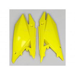 Plaques latérales UFO jaune...