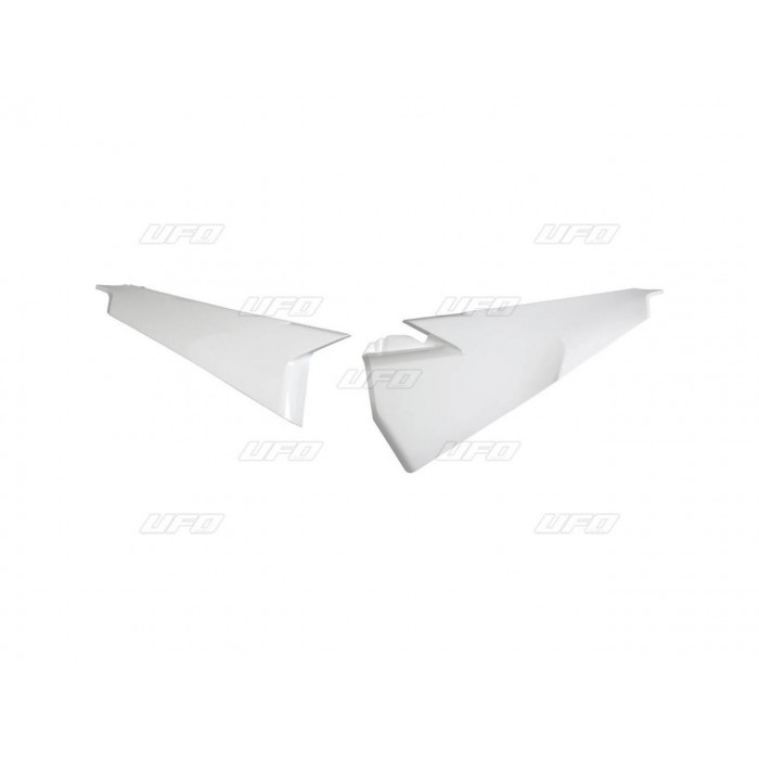 Plaques latérales supérieures UFO blanc Husqvarna