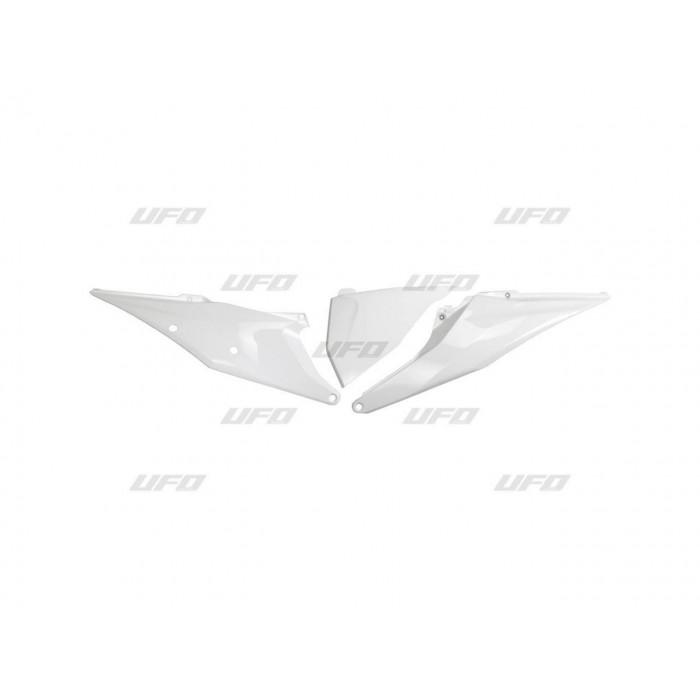 Plaques latérales UFO blanc KTM EXC/SX/EXC-F/SX-F