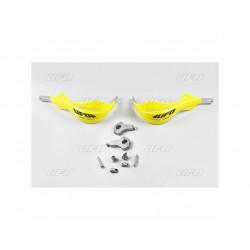 Protège-mains UFO Alu jaune