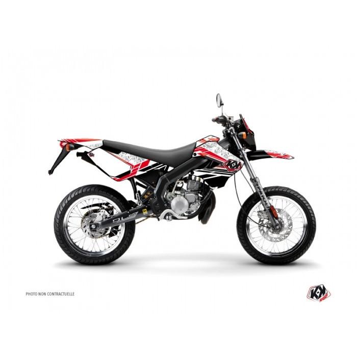 Kit déco KUTVEK Spirit rouge Derbi Senda 50 Xtreme/Xrace