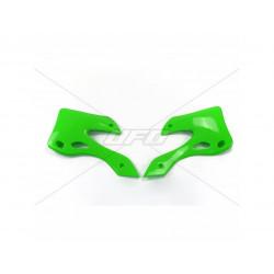 Ouïes de radiateur UFO vert...