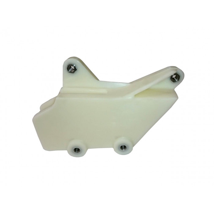 Kit guide chaîne + patin de bras oscillant UFO translucide Yamaha