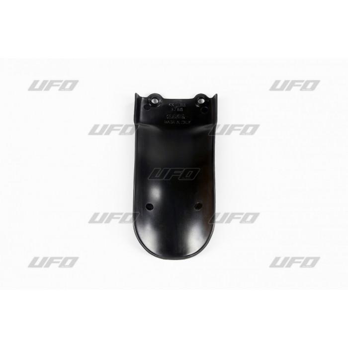 Bavette d'amortisseur UFO noir Kawasaki KX85