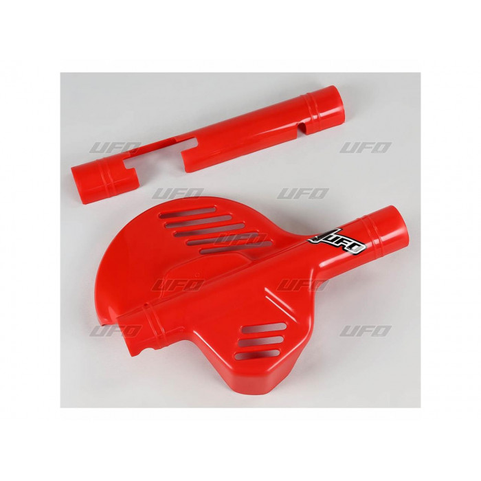 Protège-disque avant UFO rouge Honda XR600R