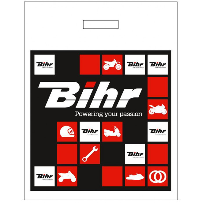 Sacs plastiques BIHR X25 350x450+SF50mm