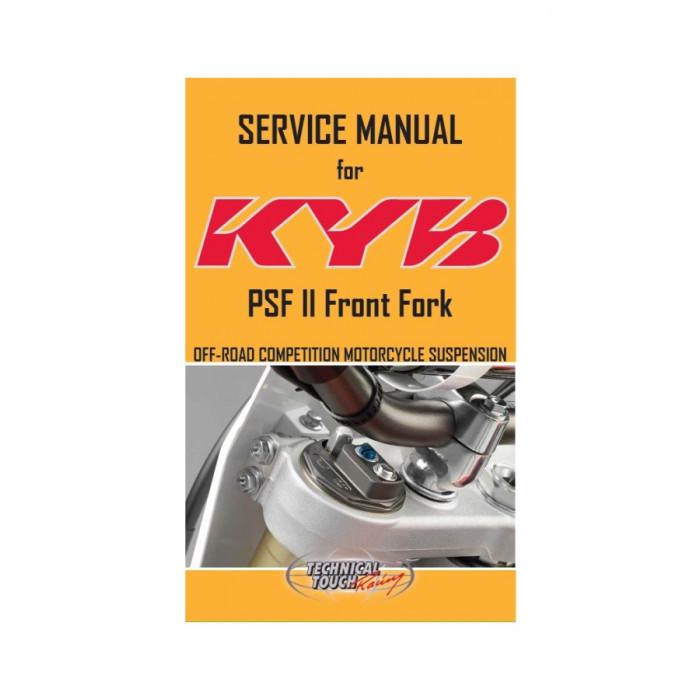 Manuel de service PSF2 KYB Anglais