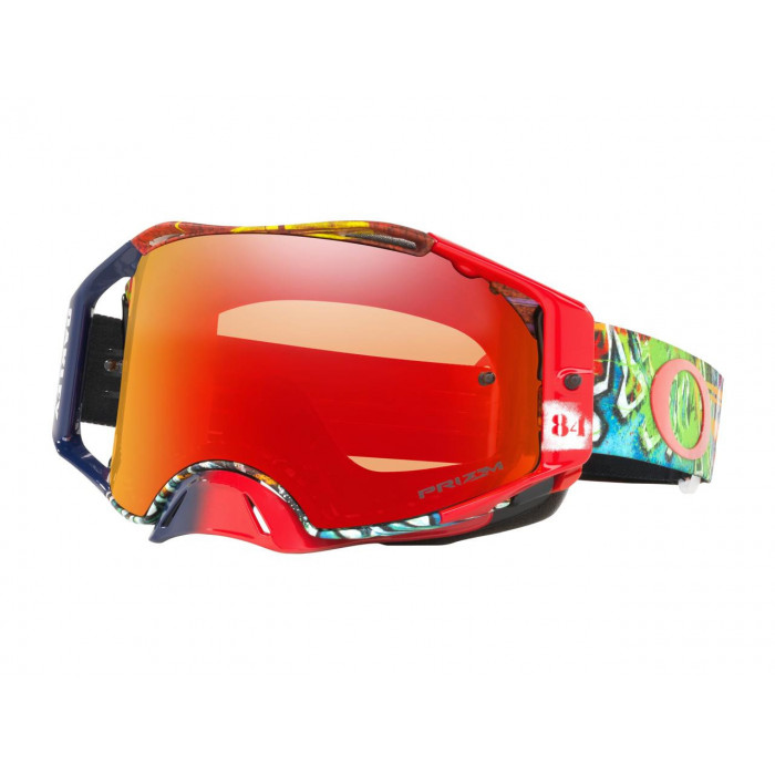 Masque OAKLEY Airbrake MX Jeffrey Herlings Signature Series Graffito écran Prizm MX Torch Iridium