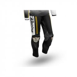 Pantalon S3 Vint blanc/noir...