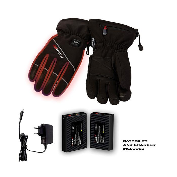 Gants chauffants CAPIT WarmMe noir taille M