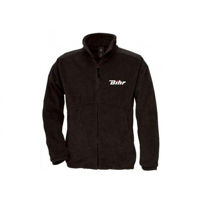 Blouson polaire zippé BIHR noir taille XL